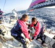 Corinna Halloran/Team SCA June 19, 2014. Round Canary Islands Race: Onboard SCA.