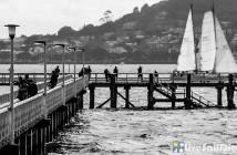 RNZYS Ponsonby Scow Orakei Wharf