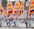 Nanjing Youth Olympics Day 3 - Girls Techno 293 Fleet. Photo: © ISAF