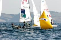 2014 ISAF World Sailing Championships, Santander - Mat Belcher / Will Ryan Day3 - Photo ThomTouw