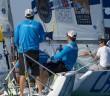 Taylor Canfield (ISV) chasing Pierre Antoine Morvan (FRA) - photo Ian Roman/AWMRT