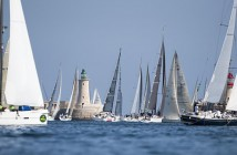 A record fleet of 122 yachts compete for the Rolex Middle Sea Race 2014. Photo by: Rolex / Kurt Arrigo