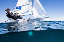 Jo Aleh & Polly Powrie. ©Pedro Martinez/Sailing Energy