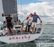 Atka & AJ Reid on their new boat, Anarchy Racing. © Suellen Hurling | LiveSailDIe.com