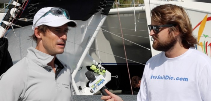 2015 ANZAC Regatta: Day 2 pre-race chat with Michael Coxon