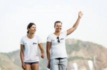 Jo Aleh & Poly Powrie  Credit Jesus Renedo/Sailing Energy