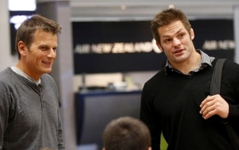 Dean Barker & Richie McCaw. Photo / Nick Reed