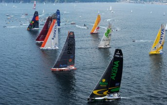 2008 Transat - Plymouth - The Start. Plymouth will host the start of the 2016 Transat race. © Vincent Curutchet/DPPI