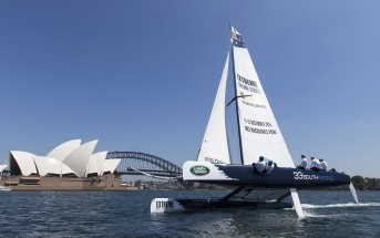 33 South Racing, the Australian wild card entry for the Extreme Sailing Series. ph. Andrea Francolini