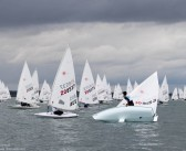 Fickle winds prevail at Laser Radial Youth & Mens Worlds
